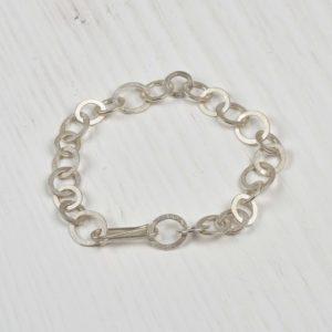 sterling silver handmade bracelet